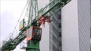 Liebherr LTM 1300 6.2 built Liebherr tower crane
