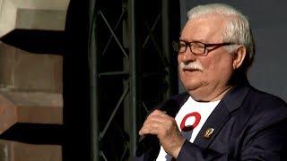 Lech Wałęsa: zostawiam wam mojego syna, aby kontynuował moje dzieło