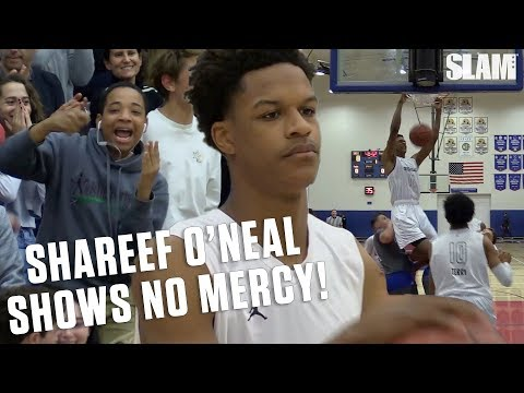 Shaq's Son Shareef O'Neal Shows No Mercy in Playoff Season!