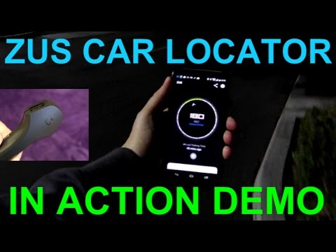 Zus Car Locator App In Action Demo Smart Car Charger Iphone