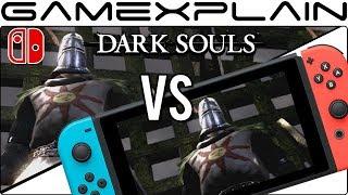 Dark Souls: Remastered - Docked Vs Handheld Graphics Comparison (Nintendo Switch)