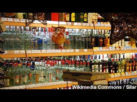 Vodka To Blame For Early Deaths In Russian Men, Study Says