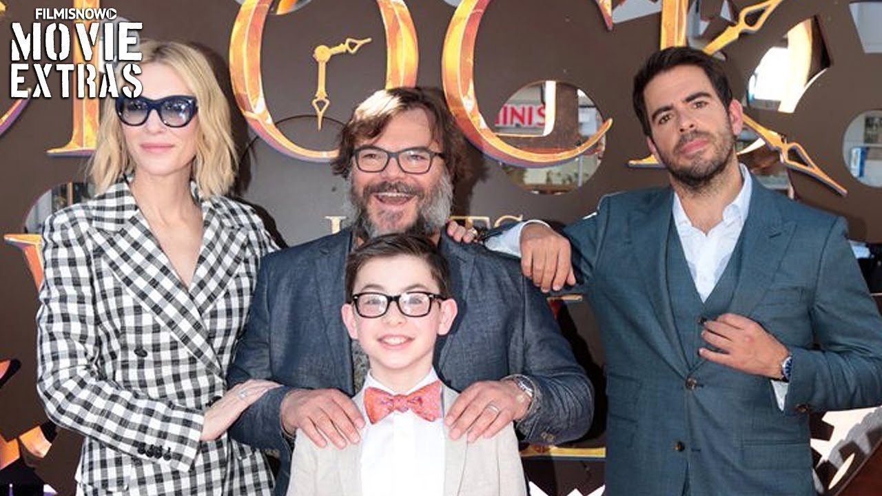 THE HOUSE WITH A CLOCK IN ITS WALLS   World Premiere (Hollywood)