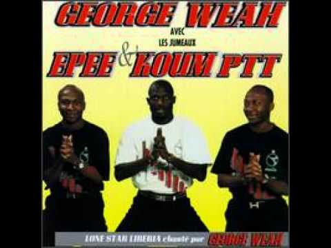 George Weah and  Epee et Koum - Lone Star Player ( Old school Liberia music )