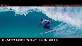 QUIKSILVER PRO GOLD COAST 2012 | PRE-GAME