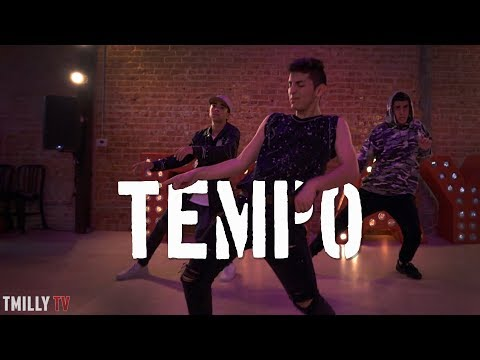Chris Brown - Tempo Choreography   by Mikey DellaVella   #TMillyTV