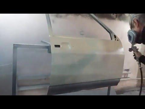 Покраска Алкидной эмалью с добавлением лака.Эксперимент!