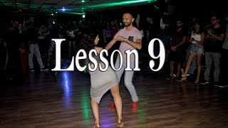 "Lidar and Rafael Bachata Lesson 9 ""Flashlight"""