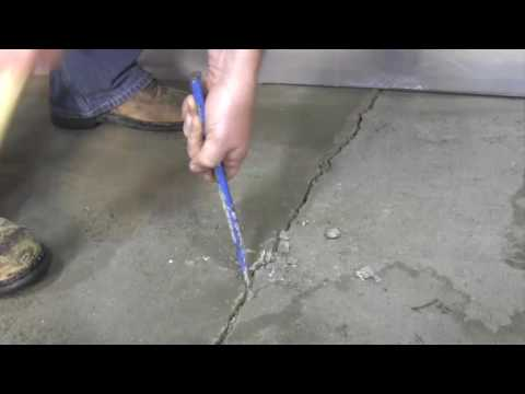 Remove the Loose Stuff - Chisel loose concrete