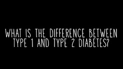 hqdefault - Type 1 And Type 2 Diabetes Differences