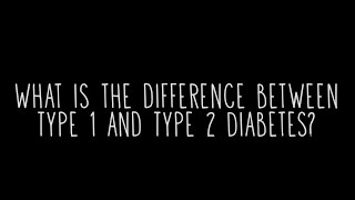 What Difference Between Type And Type Diabetes
