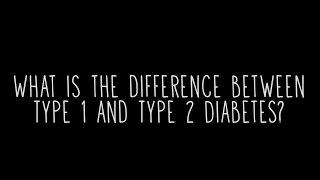 ¿Cuál es la Diferencia Entre el Tipo 1 y Diabetes Tipo 2?