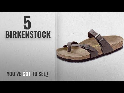 Top 5 Birkenstock [2018]: Birkenstock Women's Mayari Sandal,Mocha,EU Size 39 / Women's US Size