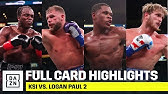 LOOKING BACK | Full Card Highlights: KSI vs. Logan Paul 2