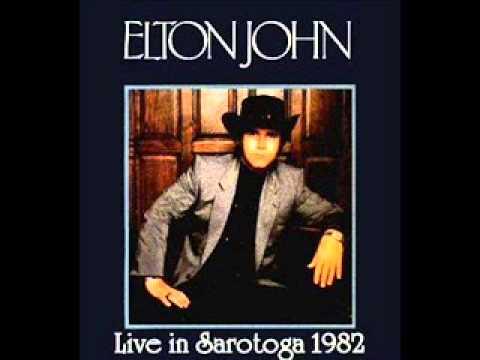 "ELTON JOHN ""SARATOGA"" 1982"