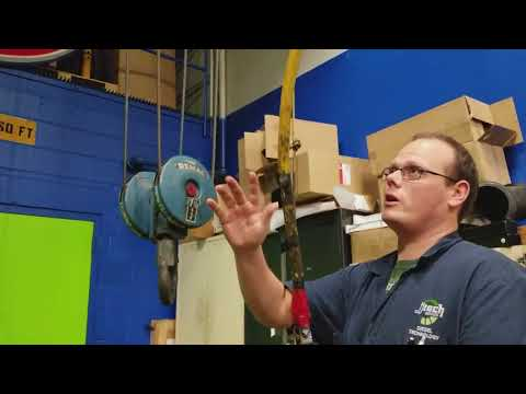 Inspection of an OverHead crane