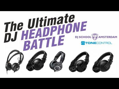 The Ultimate DJ-headphone Battle: 3x Pioneer Vs Sennheiser & Audio Technica