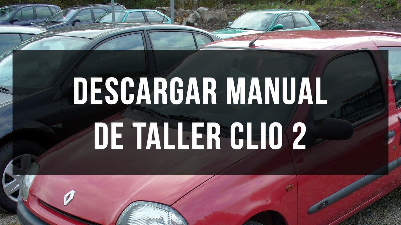 Descargar manual de taller Renault Clio 2  YouTube