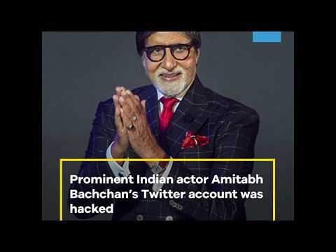 Amitabh Bachchan's Twitter account was hacked by a Turkish hacker group