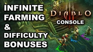 Diablo 3 Console Farming Tips: Infinite Farming Exploit & Difficulty Rewards Info