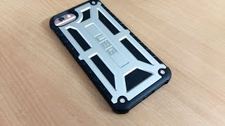 uag iphone 7 monarch case review tested on iphone 6s rose gold