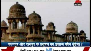 Kanpur and Raipur amond most polluted cities