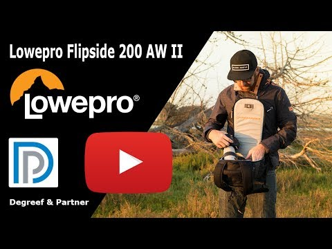 Lowepro Flipside 200 AW II Camera rugzak - Productvideo