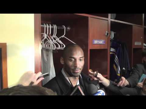 Lakers Guard Kobe Bryant On Losing Derek Fisher