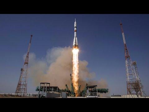 شاهد: من كازاخستان .. سويوز ينطلق نحو محطة الفضاء الدولية…  - 17:58-2021 / 4 / 9