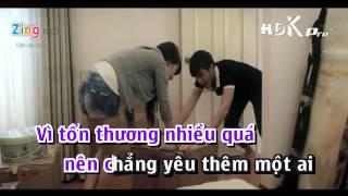 [Karaoke] Anh Sợ Yêu - Khắc Anh ft. Hoài Nam Bozo Full Beat