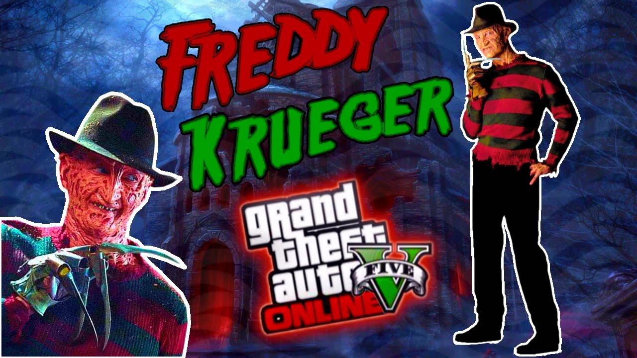 gta 5 online- freddy krueger outfit! (rare halloween costumes trick