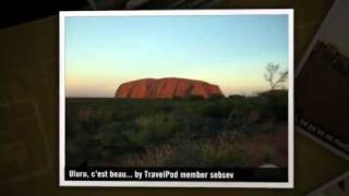 """The Ghan, Alice Springs et la montagne rouge"" Sebsev's photos around Alice Springs, Australia"