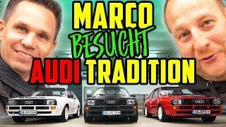 Die HEILIGEN HALLEN! - Marco bei Audi Tradition! - Ein Blick hinter verschlossene Türen! Teil 1/2
