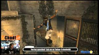 Prince of Persia-The Sands of Time HD Walkthrough-Cavern of Ladders (57%) Part 1