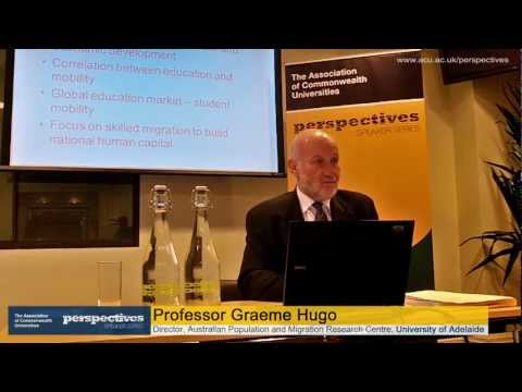 ACU Perspectives | Graeme Hugo: International migration and higher education in Australia (full)