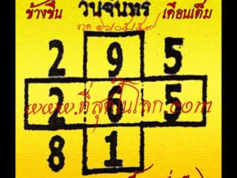 เลขเด็ดงวด 16 พ.ค. 59 หวยเด็ดงวด 16/5/59 งวดนี้ขอเน้นๆ