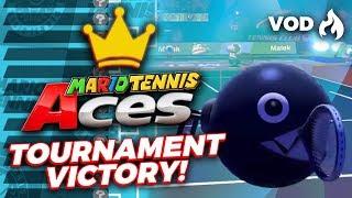 chain chomp online tournament win! | Mario Tennis Aces | raysfire