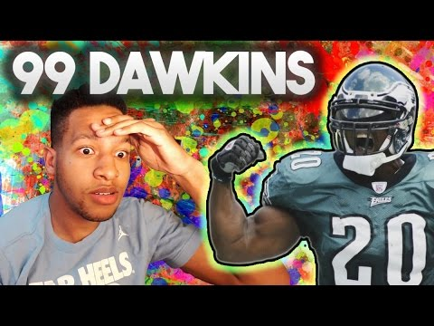 99 OVERALL BRIAN DAWKINS IS LOOKING TO KILL! - MADDEN 16 ULTIMATE TEAM