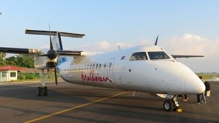 Maldivian Bombardier Dash 8 Q300: transfer from the Park Hyatt resort to Male airport