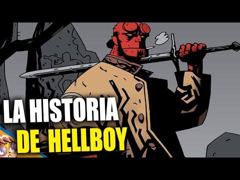 La historia de Hellboy (Personaje) - MiniBiografias Banana