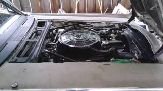 1965 Lincoln Convertible Cold Start