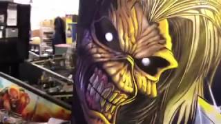 Iron Maiden Pinball now in FULL PRODUCTION at the Stern Pinball factory