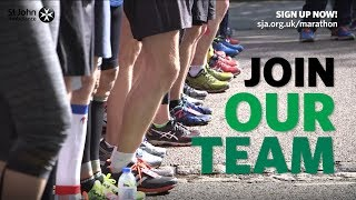 Run the 2018 London Marathon with St John Ambulance!