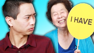 Asian Parents Play  Never Have I Ever  With Their Kids