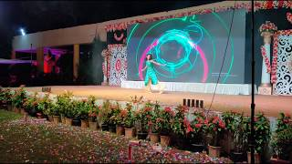 Stage performance on Dheeme Dheeme