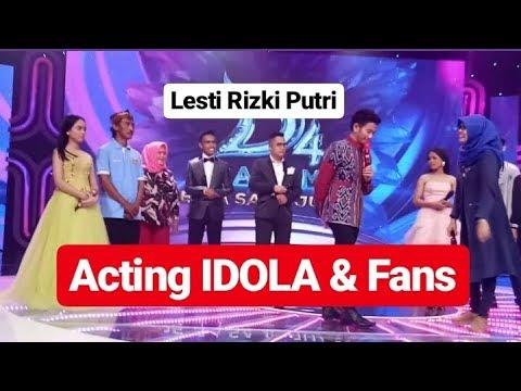 Acting Idola & Fans diKonser Pesta Sang juara DA4
