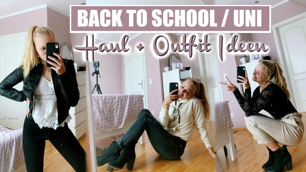 [VIDEO] - Back to School / Uni Haul (gemütliche OUTFIT-IDEEN) // Miss Aliana 1
