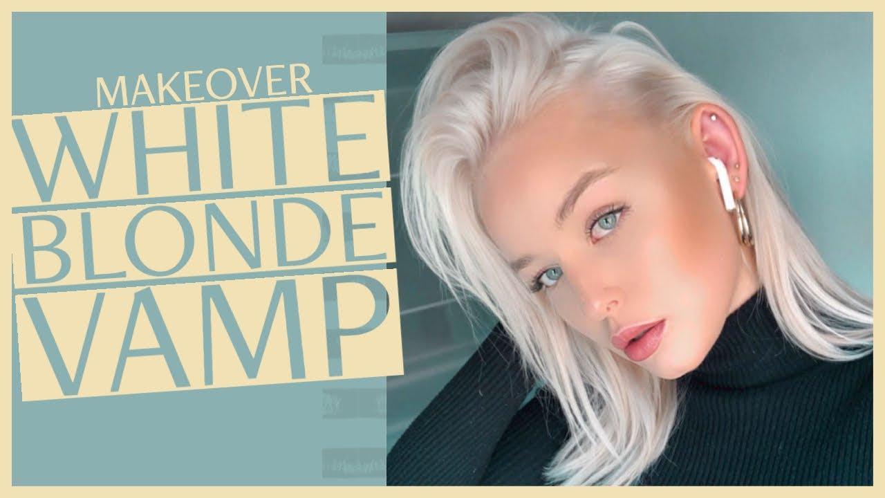 Färben weißblonde haare Haare färben?