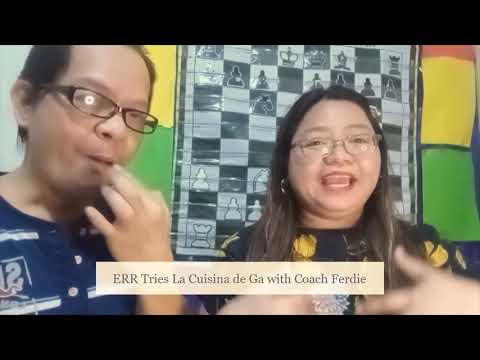 Err Tries La Cuisina de Ga with Coach Ferdie Reyes | Kwentuhan at Kulitan