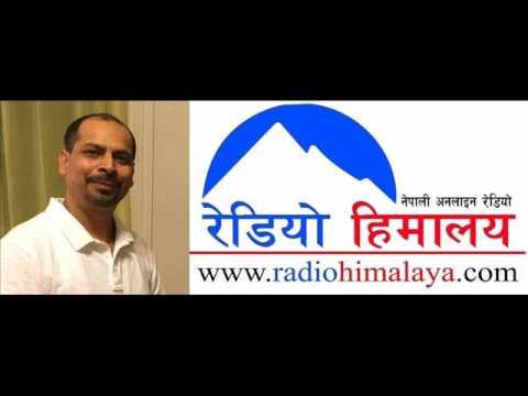 Social Activist Ramanuj Bastola in Radio Himalaya